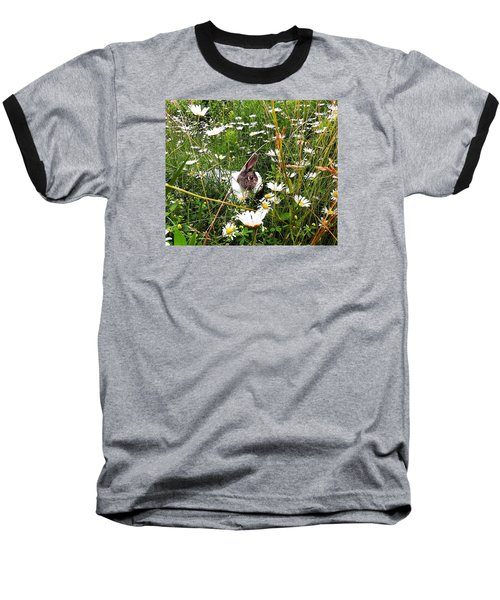 Baseball T-Shirt featuring the photograph Obelix And Daisies  by Vicky Tarcau