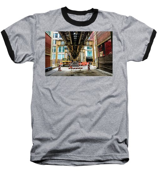 Obey The Signs Baseball T-Shirt