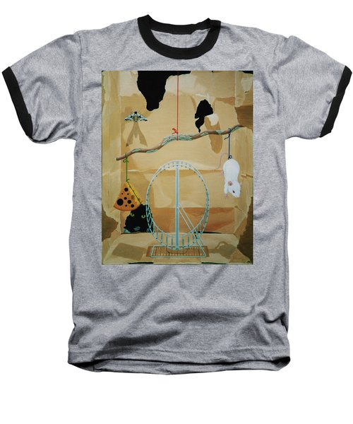 Objects Of Opposite Fit Baseball T-Shirt