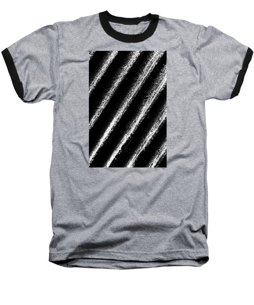 Oblique Line Baseball T-Shirt by Edgar Laureano