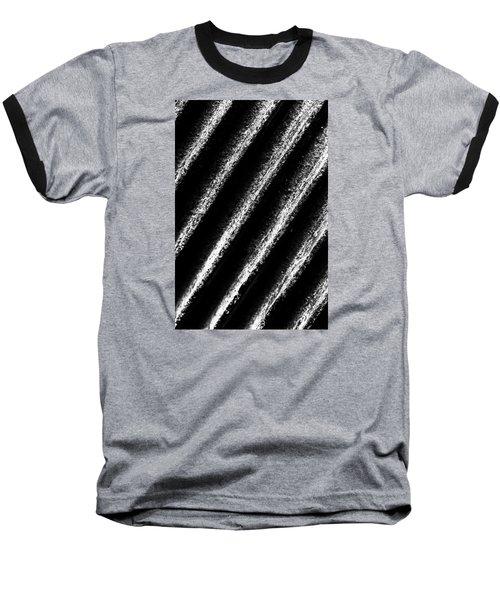 Oblique Line Baseball T-Shirt