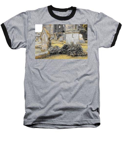 Oblivion. Ivy And Golden Lichen Baseball T-Shirt
