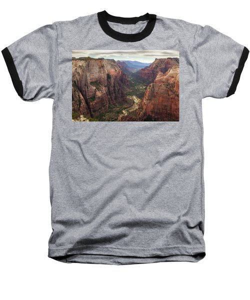 Observation Point - Zion Baseball T-Shirt