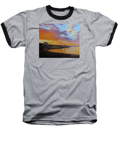 Observatory Point, Rockport, Ma Baseball T-Shirt