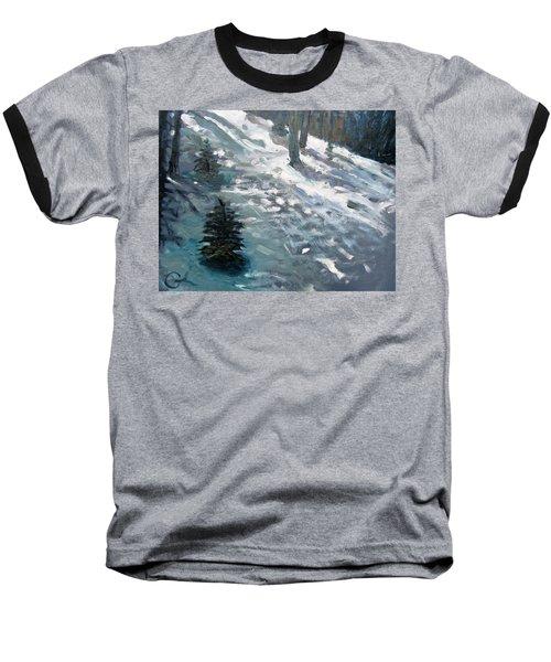 Observing Snow Baseball T-Shirt