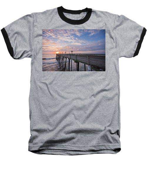 Obx Sunrise Baseball T-Shirt