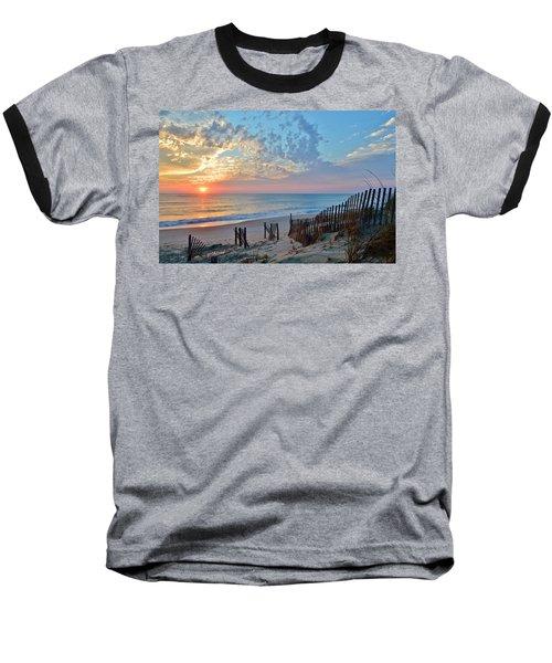 Obx Sunrise September 7 Baseball T-Shirt