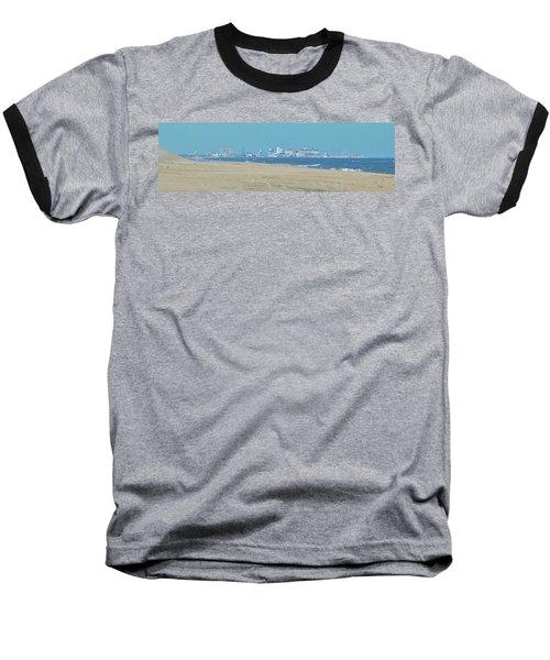 Oc Inlet Color Baseball T-Shirt by William Bartholomew