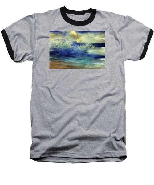 Ocean Baseball T-Shirt by Allison Ashton