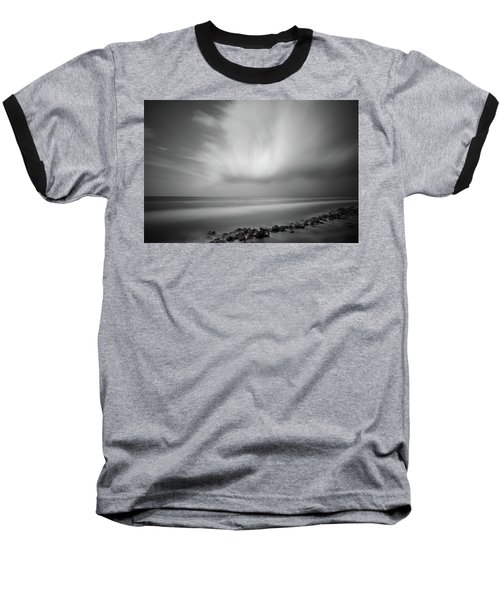 Ocean And Clouds Baseball T-Shirt
