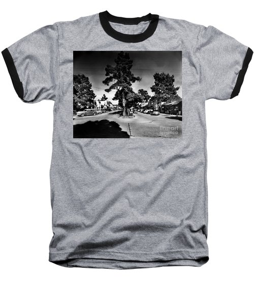 Ocean Avenue At Lincoln St - Carmel-by-the-sea, Ca Cirrca 1941 Baseball T-Shirt