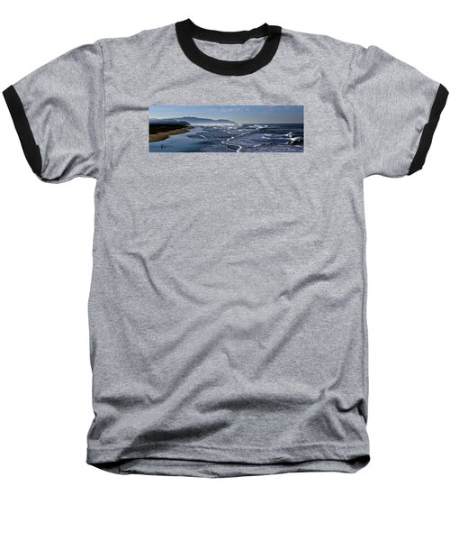 Ocean Beach San Francisco Baseball T-Shirt