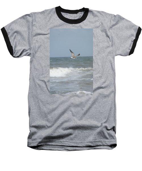 Ocean Breeze Baseball T-Shirt by Heidi Poulin