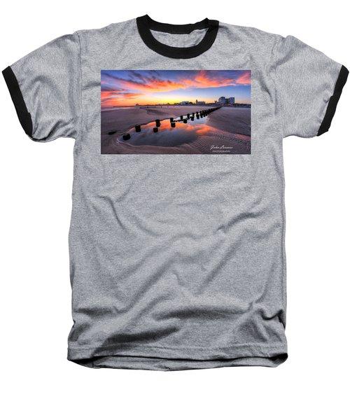 Ocean City Afterglow Baseball T-Shirt