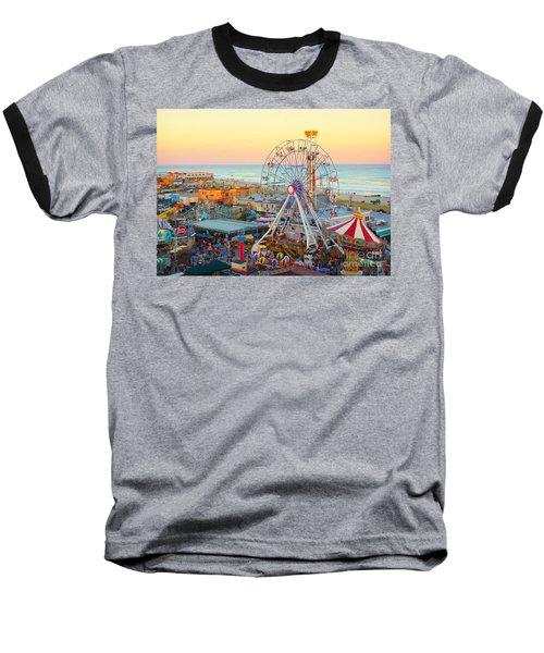Ocean City New Jersey Boardwalk And Music Pier Baseball T-Shirt