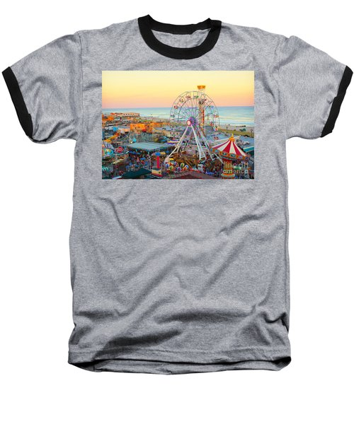 Ocean City New Jersey Boardwalk Baseball T-Shirt