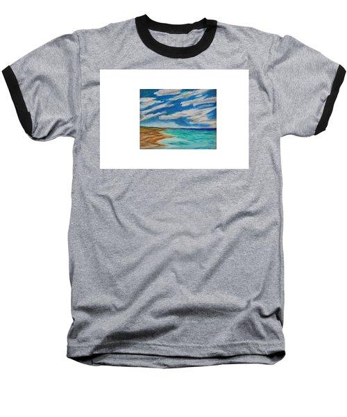 Ocean Clouds Baseball T-Shirt