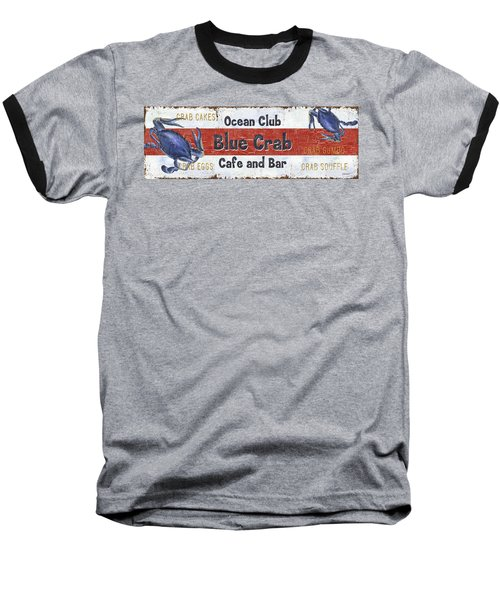 Ocean Club Cafe Baseball T-Shirt