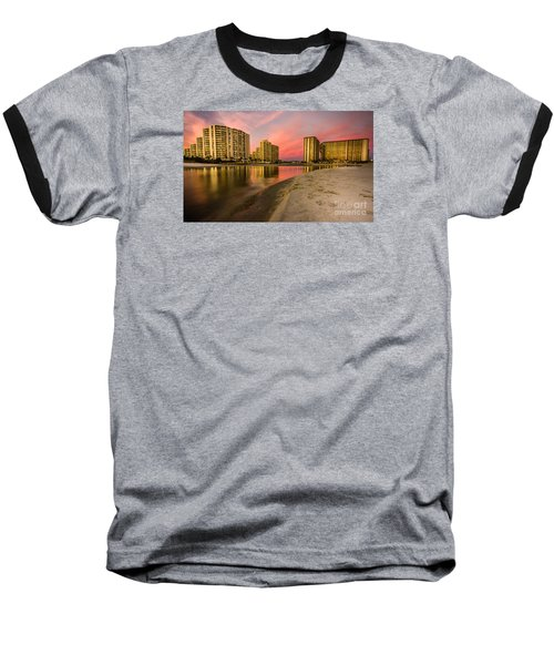 Ocean Creek Baseball T-Shirt by David Smith