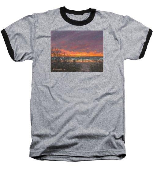 Ocean Daybreak # 2 Baseball T-Shirt