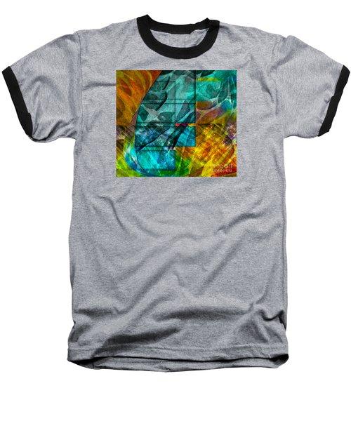 Ocean Doors Baseball T-Shirt by Allison Ashton