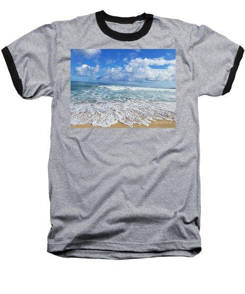 Ocean Foam Baseball T-Shirt