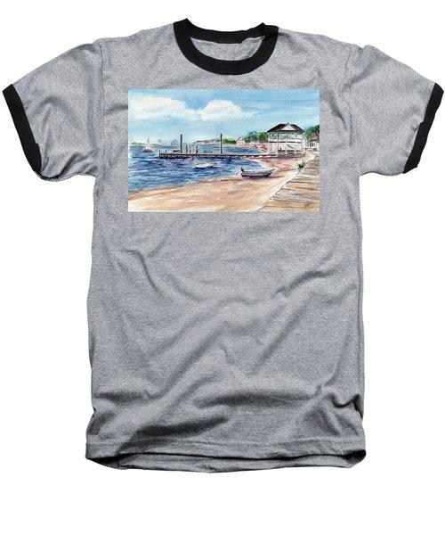 Ocean Gate Boardwalk Baseball T-Shirt
