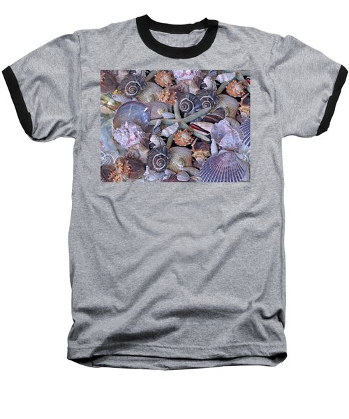 Ocean Gems 11 Baseball T-Shirt by Lynda Lehmann
