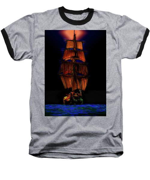 Ocean Glow Baseball T-Shirt