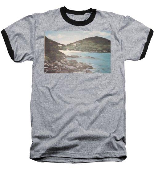 Ocean Inlet Landscape Baseball T-Shirt