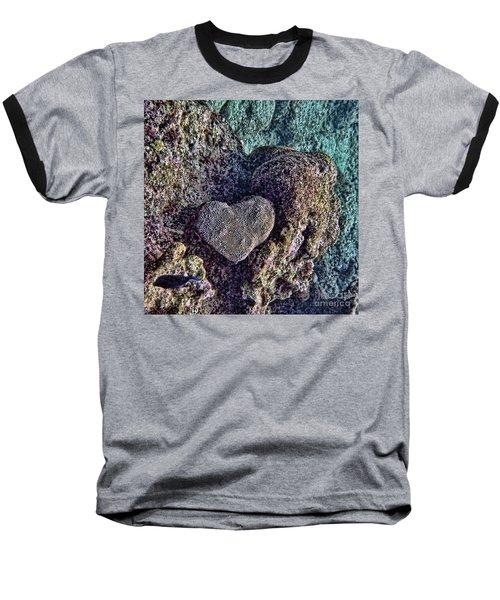 Ocean Love Baseball T-Shirt