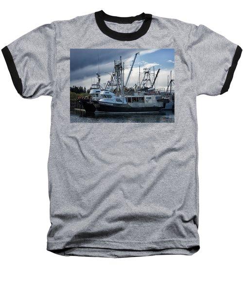 Ocean Phoenix Baseball T-Shirt by Randy Hall