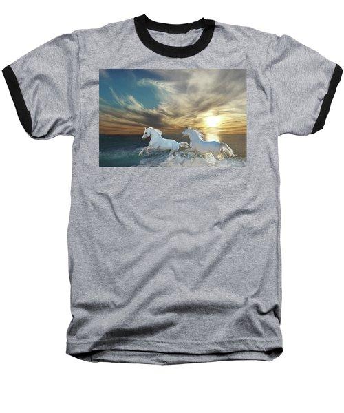 Ocean Play Baseball T-Shirt