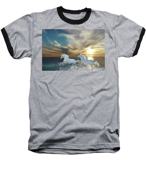 Ocean Play Baseball T-Shirt