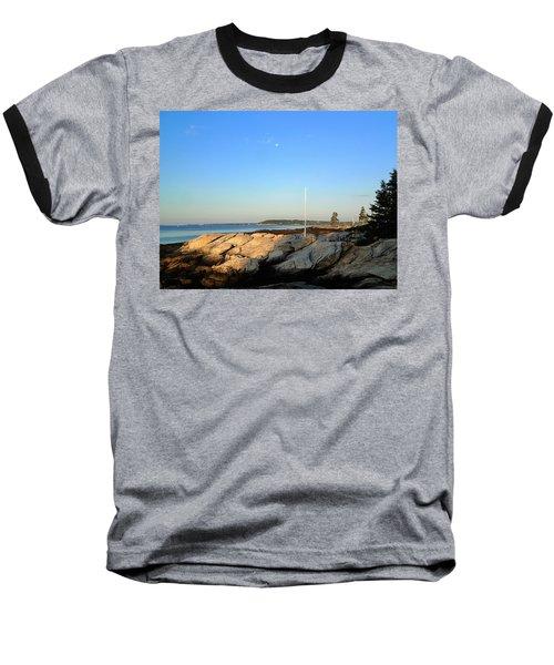 Ocean Point Baseball T-Shirt by Lois Lepisto