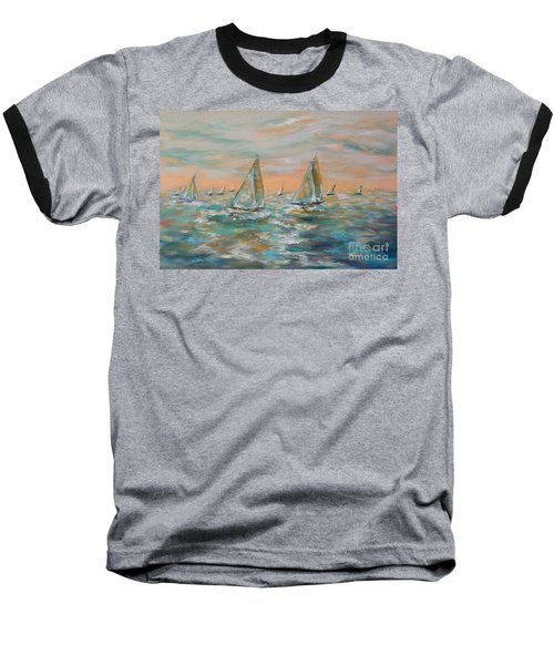 Ocean Regatta Baseball T-Shirt