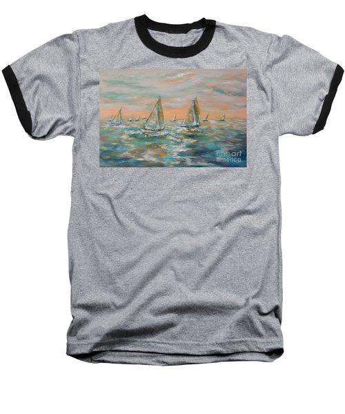 Ocean Regatta Baseball T-Shirt