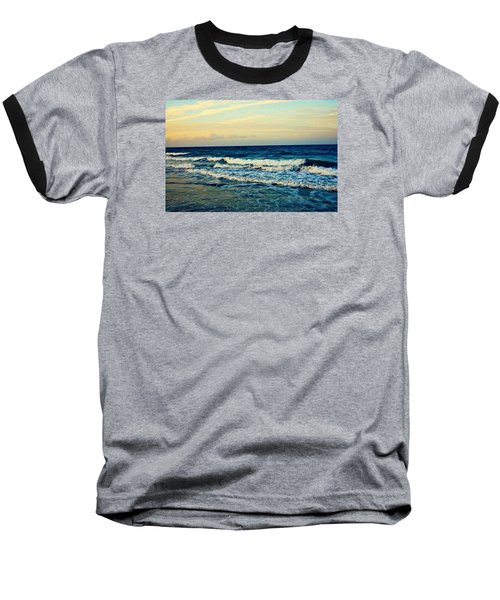 Ocean Baseball T-Shirt by Artists With Autism Inc