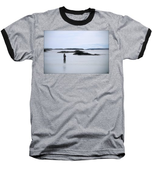 Ocean Solitude Baseball T-Shirt