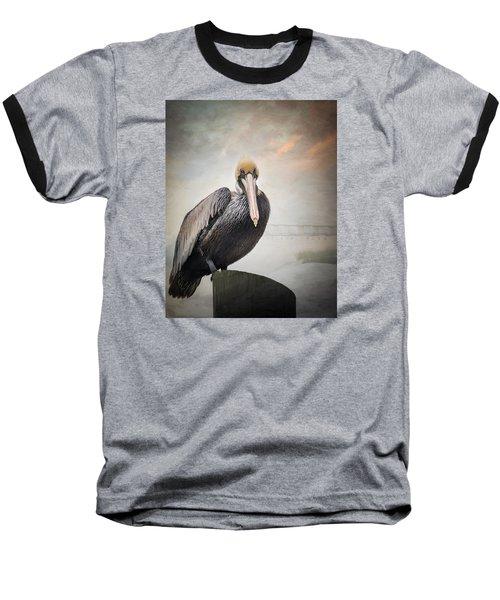 Ocean Springs Pelican Baseball T-Shirt