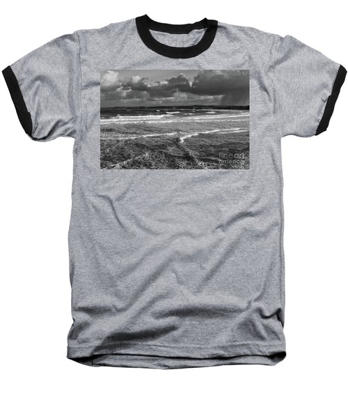 Baseball T-Shirt featuring the photograph Ocean Storms by Nicholas Burningham