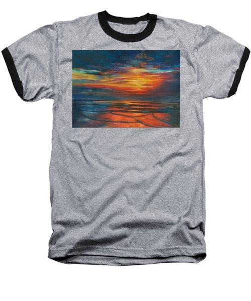 Ocean Sunrise Baseball T-Shirt