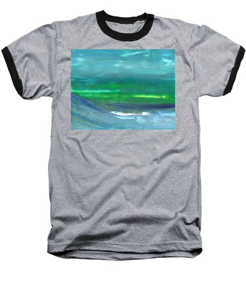 Ocean Swell Baseball T-Shirt
