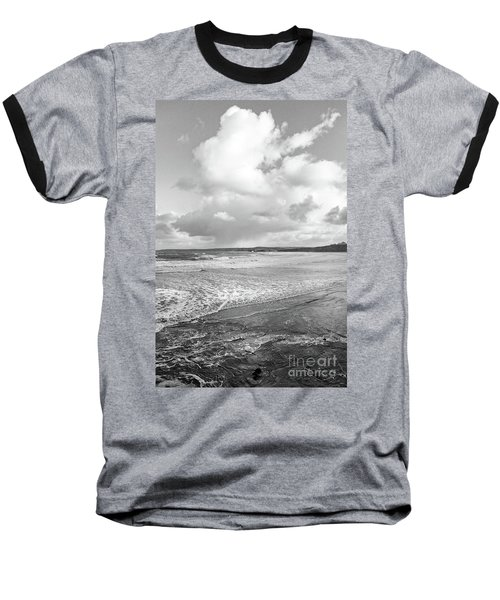 Baseball T-Shirt featuring the photograph Ocean Texture Study by Nicholas Burningham