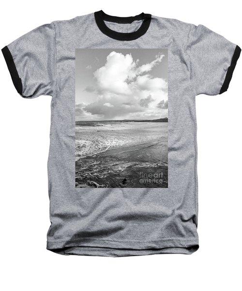 Ocean Texture Study Baseball T-Shirt