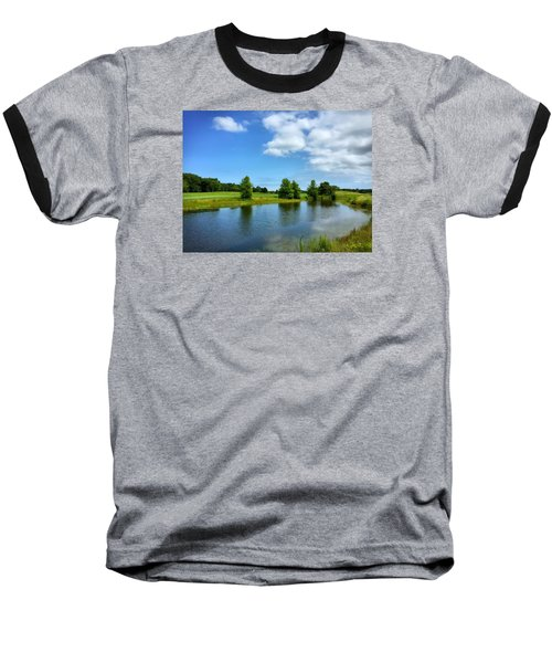 Ocean View Baseball T-Shirt