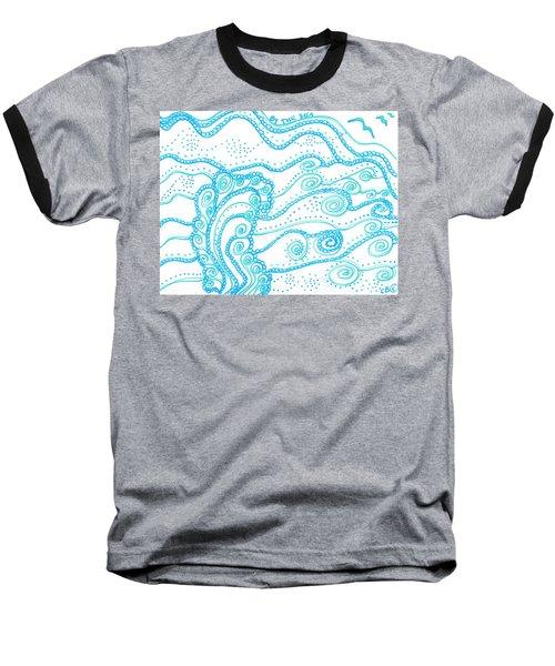 Ocean Waves Baseball T-Shirt