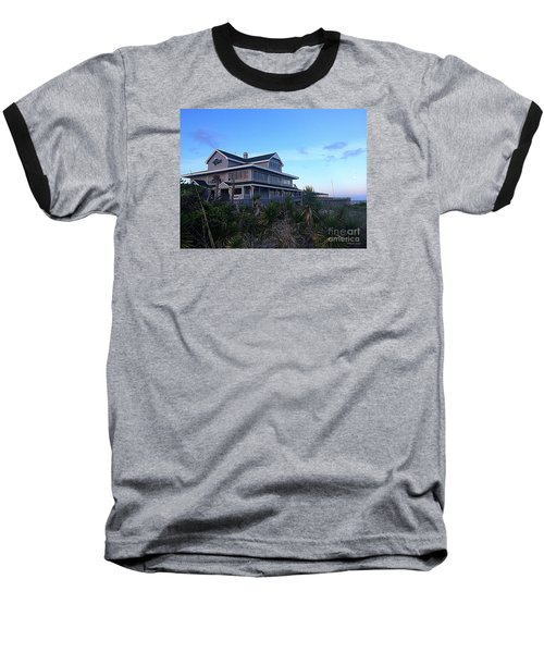 Oceanic - Wrightsville Beach Baseball T-Shirt by Shelia Kempf
