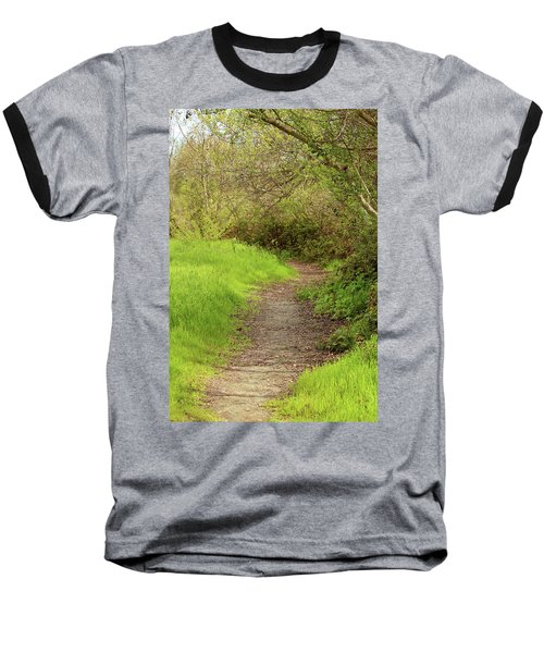 Baseball T-Shirt featuring the photograph Oceano Lagoon Trail by Art Block Collections