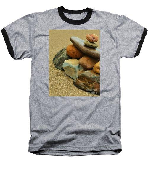 Ocean's Art Baseball T-Shirt by Pamela Blizzard